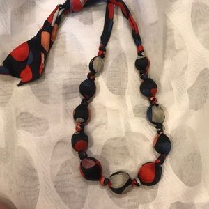 Multi-color Bauble necklace